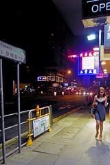 Hong Kong Wan Chai Streets at Night (dcmaster) Tags: streets night hong kong wan chai
