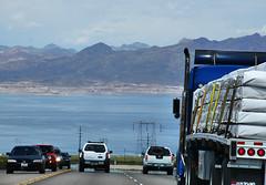 lake Mead with the Arizona - Nevada border (ah zut) Tags: lakemead p1110278