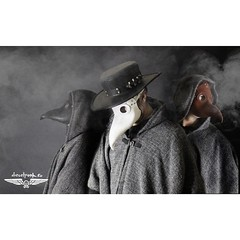 the plague doctor army of www.dieselpunk.ro #postapocalyptic #postapocalypse #steampunk #steampunkmask #leathermask #handmade #LARP #plaguedoctor #plaguedoctormask #dieselpunk #dark #Leather #costume #cosplay #tophat #leatherhat (tovlade) Tags: black girl face make up leather punk hand mask goth goggles made doctor cyber cybergoth cyberpunk plague larp steampunk postapocalyptic postapocalypse dieselpunk