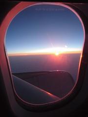 Inflight sunrise (neeravbhatt) Tags: sunrise inflight helsinki