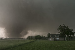 EF4 Wedge Tornado (Rigsby'sUniquePhotography) Tags: nature rain weather hail canon landscape wind kansas thunderstorm tornado wedge stormchasing stormscape supercell stormchaser ligtning thegreatplains tornadoalley violentnature canon70d aaronrigsby