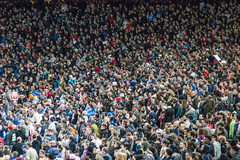 Bernie Again (11 of 13) (evan.chakroff) Tags: seattle field washington election unitedstates baseball stadium political politics rally crowd presidential safeco candidate safecofield bernie primary sanders march25th 2016 berniesanders primaryseason feelthebern