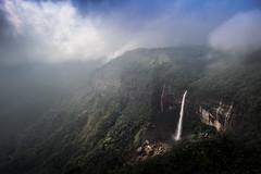 The beauty of north-east India (Amazing Bangladesh ( Prithul )) Tags: travel india nature clouds canon landscape eos asia ngc falls cherrapunji meghalaya sigma1020 nohkalikai 600d
