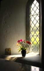 Light from yonder window (Envy Photographic) Tags: flowers light england church beautiful soft flickr cornwall explore canoneos 550d nigelvaux