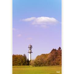 Turm (horstmall) Tags: tower spring tour hill turm funkturm printemps radiotower frhling stromversorgung hgel schwbischealb relais fernmeldeturm swabianalps beuren donnstetten rmerstein jurasouabe swabianjura relaisstation horstmall