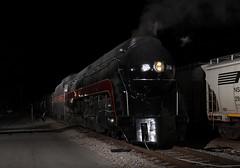 Flashed! (brickbuilder711) Tags: railroad train virginia nw ns norfolk engine steam southern roanoke va western locomotive railfan 611