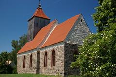 Dorfkirche Gro-Ziethen (steffenz) Tags: germany deutschland lenstagged sony sigma brandenburg 30mm 2016 nex sigma30mm steffenzahn grosziethen sigma30mmf28 nex6 sigma30mmf28dn sigma30mm28exdn