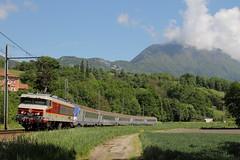 Retour  Avignon (Maxime Espinoza) Tags: train de la cc ligne sncf albertville tarentaise 6500 6570 avigon frontenex apcc6570