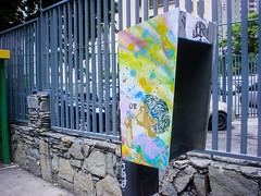 Burbujas (D11 Urbano) Tags: color art stencil arte venezuela caracas urbano venezolano burbujas arteurbano d11 streetartvenezuela artvenezuela d11streetart arteurbanovenezuela d11art d11urbano