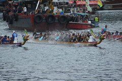 DSC08801 (rickytanghkg) Tags: sports hongkong asia outdoor sony sunny aberdeen dragonboatfestival a550 sonya550