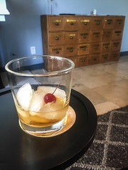 Bulleit Manhattan on the Rocks - West Hollywood, CA (ChrisGoldNY) Tags: california food usa ice cali america cherry glasses la losangeles rocks forsale liquor foodporn socal drinks alcohol albumcover booze bookcover cocktails westcoast bookcovers californian albumcovers eater licensing laist chrisgoldny chrisgoldberg chrisgoldphoto