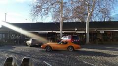 Sun kiss the beauty (Lorenzo Bl) Tags: sanfrancisco california orange usa car cobra prison lorenzo jail shelby alcatraz sacramento mustang oldtown thebay blangiardi lydser