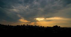 DSC08554.jpg (falafeLover) Tags: sf sanfrancisco sunlight skyline dawn rays