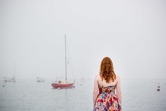 Embark (Monica Willow Photography) Tags: world life voyage trip travel red portrait people woman lake inspiration reflection art home water senior girl beautiful beauty lady youth hair wonder real photography boat energy peace open emotion earth being fineart innocent young grow free ground her redhead adventure explore story growth identity thoughts human journey enjoy sail imagine reality mindfulness graduate moment lovely transition venture embrace inspire pure magical darling adore existence yearn monicawillowphotography