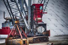 Heavy Cranes--Detail (PAJ880) Tags: ma chelsea industrial crane engine shovel heavy repairs dockside