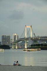 Romantic Tokyo Bay - Odaiba Tokyo (JaS Photoland) Tags: leica ltm travel japan tokyo sony odaiba a7 tokyo2016 leitzelmar9cmf4 sonya7rii a7rii sonya7rmark2