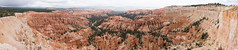 Hoodoo panorama (Stephen T Slater) Tags: explore inspirationpoint us usa unitedstatesofamerica hoodoos rimtrail bryce utah unitedstates brycecanyonnationalpark