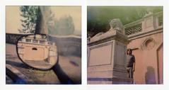 Perugia (La T / Tiziana Nanni) Tags: film polaroid sx70 luca analogue perugia due pola filmscan impossible polaroidsx70 colorfilm analogico dittico polaroidportrait iamyou polaroiders neinostriluoghi tizianananni analogueportraits