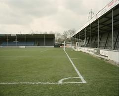 5 (Anders Hviid) Tags: film analog football kodak stadium negative stadion fc portra 160 plaubel makina tnder groundhopping sydvest