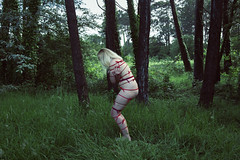 Red: 7/28. (SaraiDeza) Tags: red woman art nature nude photography photo fineart creative conceptual menstruation creativephotography conceptualphotography