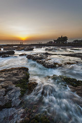 Keep Flowing with The Sun - Bali Photography Tour (Pandu Adnyana Photography Tour) Tags: travel sunset bali rock indonesia landscape photography moss tour lot guide tanah balitravelphotography baliphotographytour baliphotographyguide balilandscapephotography