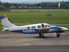 N459PA Piper Seneca 34 (Aircaft @ Gloucestershire Airport By James) Tags: james airport gloucestershire piper 34 seneca lloyds egbj n459pa