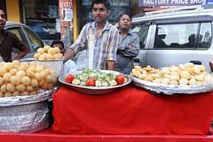 Must Be Marxist Snacks (Mayank Austen Soofi) Tags: red food ice pavement delhi stall be snacks must gol marxist walla gappa