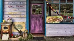 _IGP2611 RTJ HDR - Sml (Pete Prue) Tags: newzealand shop nz westcoast hdr blackball peterprue