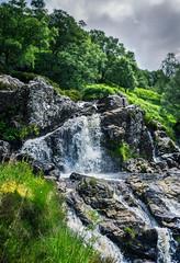 Ben Glas Falls (Neillwphoto) Tags: trees waterfall falls lochlomond inverarnan arrocher