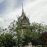 Memorial Stupa at Choeung Ek Genocidal Center Phnom Penh thumbnail