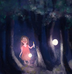 Cfn5r14UAAAgVcC (Nazuba) Tags: illustration digital book childrens littlegirl paining kidliart