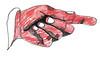 Mão apontando (suzanasacchipadovano) Tags: flor amiga banana melancia bolo olho lápis boca cuia mão relógio dedo cabide lâmpada côco abacaxi diabo jaca consumo ovos melão microfone caju cacau carambola goiaba abacate penca banquinho papaia graviola
