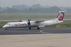 D-ABQQ Dusseldorf 30 May 2016 (ACW367) Tags: dusseldorf dash8 airberlin dehavillandcanada luftfahrtgesellschaftwalter dhc8q402 dabqq