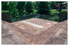 Square (jmvanelk) Tags: holland square pond thenetherlands symmetry hilversum vijver nikkor2485 nikond610 lorentzvijver lorentzpond
