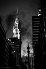 Chrysler (Georgio's Photography) Tags: street nyc newyorkcity blackandwhite bw newyork monochrome mono manhattan scenicsnotjustlandscapes