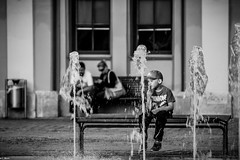 Childhood summer (c.bluem) Tags: ice fountain childhood eis kindheit