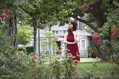 Vietnamese Viet Nam Fashion Model Red Dress (Hai Tuoi) Tags: vietnamese viet nam fashion model red dress