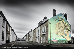 The Oysterman's Daughter (ian hufton photography) Tags: landscape kent biennale whitstable victoriastreet whitstablebiennale ianhufton oystermansdaughter