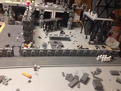Starkiller base update June 25th (Carson Tate) Tags: star starwars force lego 7 wip stormtrooper wars base episode moc snowtrooper awakens flametrooper