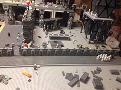 Starkiller base update June 25th (Carson Tate) Tags: star starwars force lego 7 wip stormtrooper wars base episode moc snowtrooper awakens flametrooper