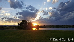 July 5, 2016 - A beautiful sunset in Broomfield. (David Canfield)