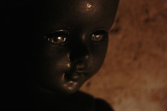 It Hides in the Shadows (Brynn Thorssen) Tags: black halloween scary doll horror androgynous