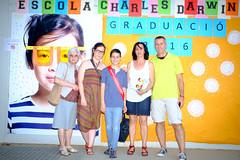Festa de graduació 6é Charles Darwin