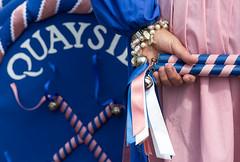 187/366 - Folk on the Quay, Poole - 366 Project 2 - 2016 (dorsetpeach) Tags: pink blue england dance dancing bell dancer dorset ribbon 365 folkdance poole folkfestival 2016 morrisdance 366 aphotoadayforayear 366project quaysidecloggies second365project folkonthequay