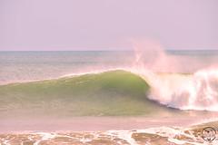 Olas (Gotas de Ans) Tags: olas waves mar sea ocean surf color blancoynegro intervenido wave