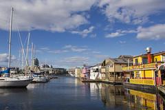 Fisherman's Wharf (StephsShoes) Tags: victoria britishcolumbia bc canada fishermanswharf houseboat boat