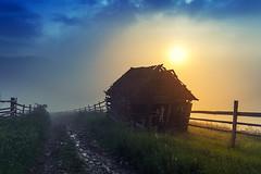 warming old bones (Tochanenko Vladimir) Tags: sunset mountain mountains nature sunrise landscape ukraine carpathian