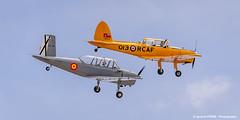 Aisa I-115 & Chipmunk (Ignacio Ferre) Tags: madrid airplane nikon aircraft aviation airshow chipmunk avin fio lecu cuatrovientos fundacininfantedeorleans aisai115 dehavillanddhc1