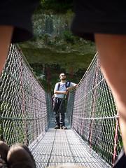 P6218546 (zullo_stefano) Tags: bridge italy mountain green nature forest trekking olympus verona tre zuiko e5 valsorda tibetanbridge olympuse5