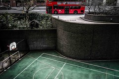 Game under the city (tomabenz) Tags: street urban green london streetphotography streetview plygraound